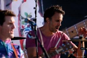 Brian Rosenworcel Guster Riverfest Seaside Music Festival Gloucester copyright Kim Smith Gloucester - 36