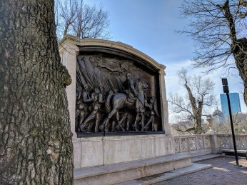 Gaudens memorial_20180301_Boston MA Black Heritage trail_and Freedom trail_and public art must see_Boston Common_ ©c ryan (2)