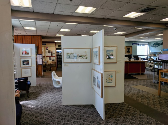 installation view Once upon a contest Sawyer Free Library Gloucester Mass_20190727_©c ryan (1).jpg