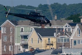 KRaken Fishing Boat Helicopter Filming Gloucester Harbor copyright Kim Smith - 08