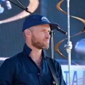 Luke Reynolds Guster Riverfest Seaside Music Festival Gloucester copyright Kim Smith Gloucester - 30