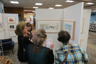Once Upon a Contest August 15 2019 reception at Sawyer Free Library ©Linda Bosselman (12)