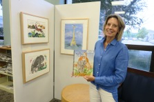 Once Upon a Contest August 15 2019 reception at Sawyer Free Library ©Linda Bosselman (2)