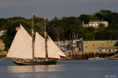 Schooner Thomas E. Lannon copyright Kim Smith - 06