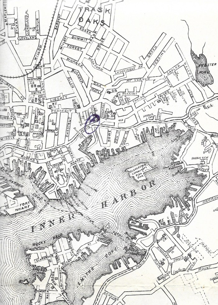 1948 map from directory