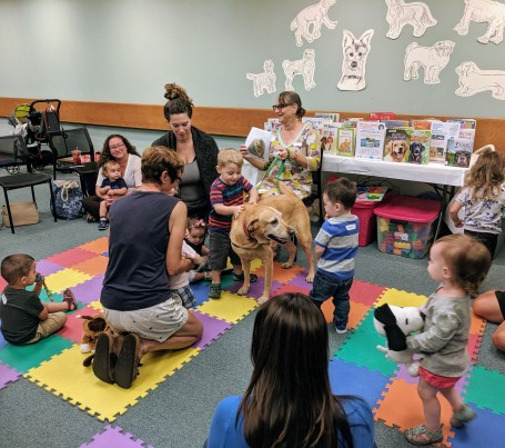 MARY RHINELANDER_children's picture book Why do dogs_ featured at Christy's story time Sawyer Free Library Cape Ann Reads_20190911_© c ryan (9)