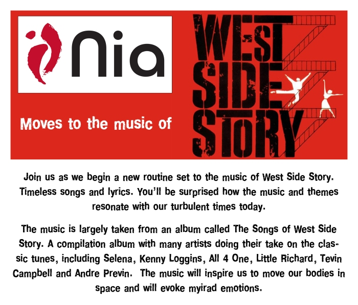 nia west side story shoutout grapgic