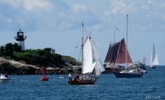 Schooner Festival Gloucester Parade of Sail copyright Kim Smith - 40 copy
