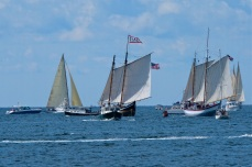 Schooner Festival Gloucester Parade of Sail copyright Kim Smith - 50
