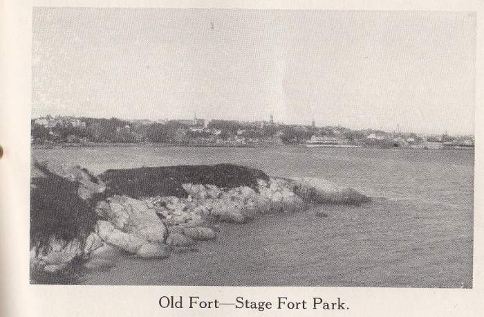 1920 Frank Cox Stage Fort Frank Cox