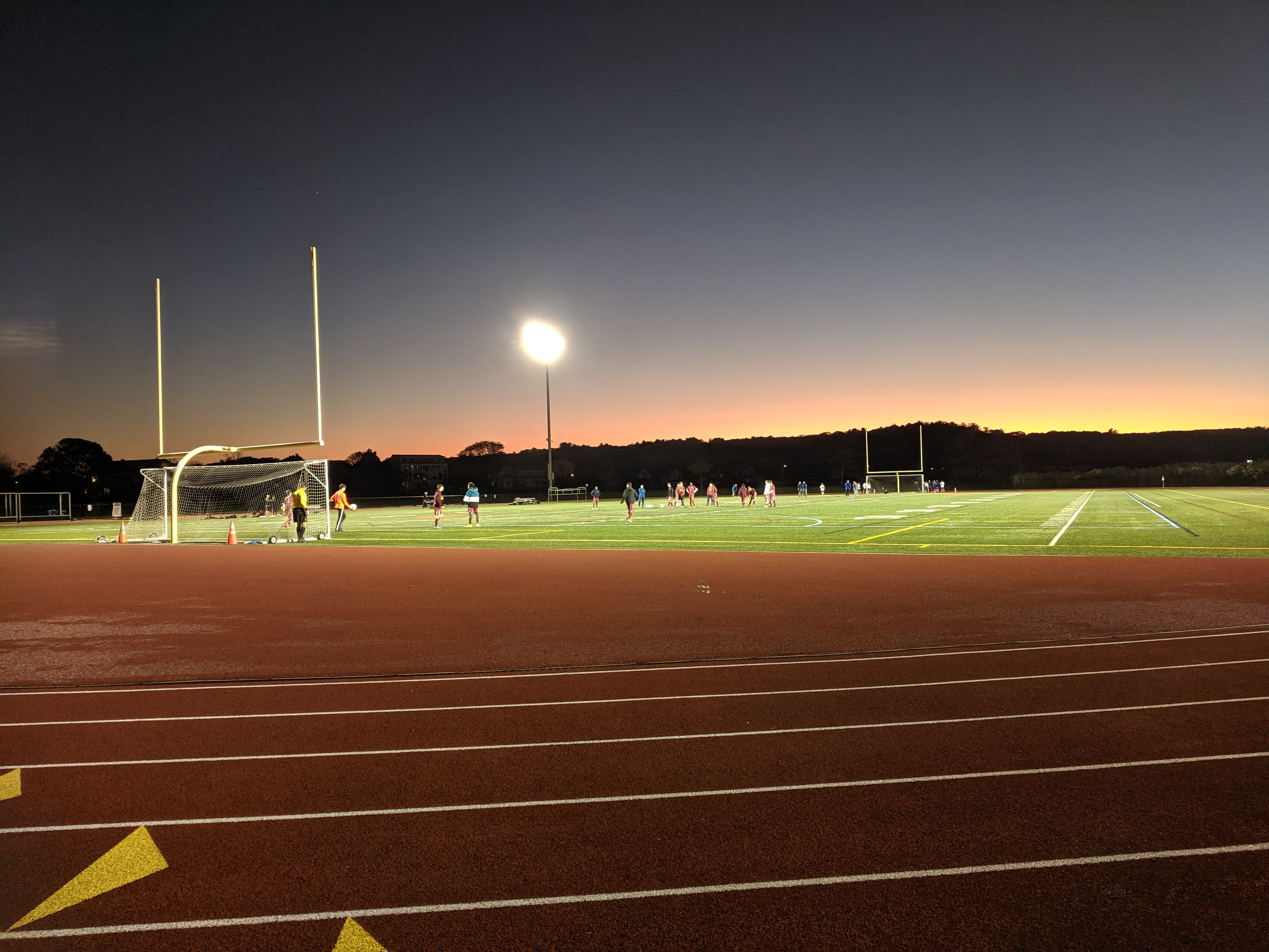 before ghs boys varsity soccer gam_20191023_New Balance Field Newell Stadium Gloucester MA ©c ryan