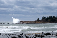 BOMB CYCLONE Brace Cove #GloucesterMA October Storm 2019 copyright Kim Smith - 13