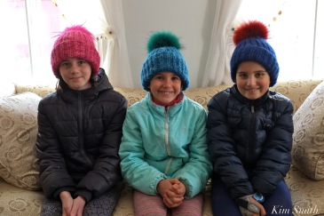 Esme, Meadow, Sabine PomPom Hats by Dawn Sarrouf copyright Kim Smith
