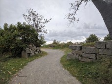 gateway path leading to former fort _stage fort park Gloucester Massachusetts_20191009_ ©c ryan