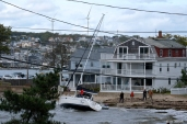 Sailboat Anejo BOMB CYCLONE #GloucesterMA Wonsons Cove Ocotber 2019 copyright Kim Smith - 06