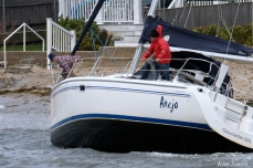 Sailboat Anejo BOMB CYCLONE #GloucesterMA Wonsons Cove Ocotber 2019 copyright Kim Smith - 08