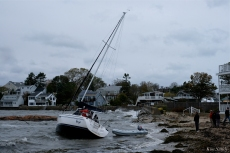 Sailboat Anejo BOMB CYCLONE #GloucesterMA Wonsons Cove Ocotber 2019 copyright Kim Smith - 11