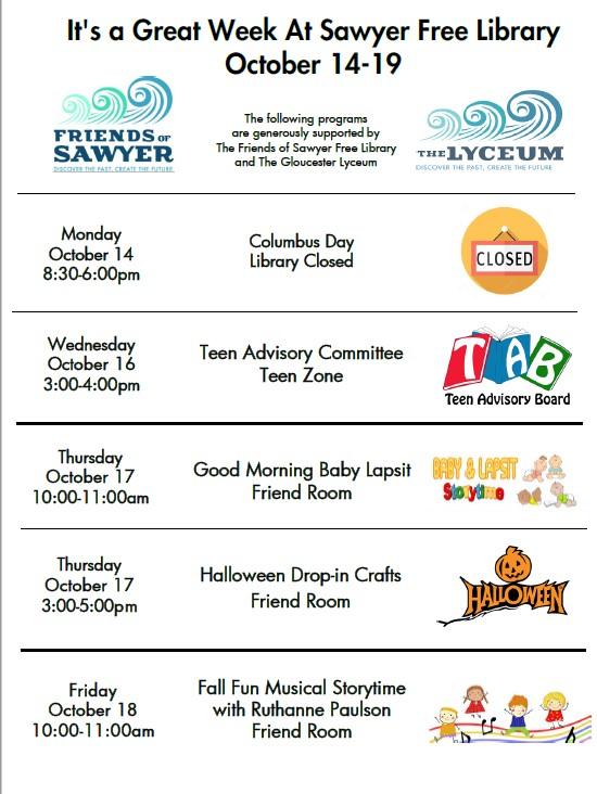 Week of October 114