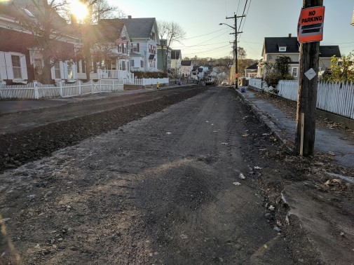 BEFORE_Department of Public Works DPW street work on Hartz Street_Gloucester Mass_20191113_©c ryan (1)