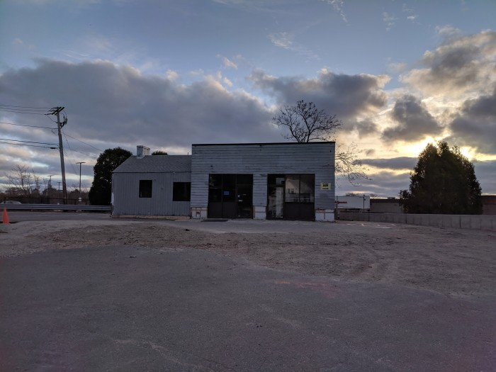 construction status November 2019 for123 Eastern Avenue in Gloucester Mass. Enterprise car rental coming_20191117_©c ryan.jpg