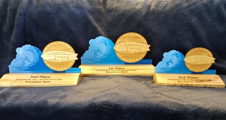 cool trophies UMASS Surf club november 2019 at Good harbor Beach.jpg