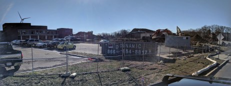 Fuller school property demo underway April 2019