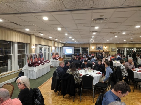 GHS boys Soccer banquet 20191124_soccer boosters at Gloucester House restaurant ©c ryan