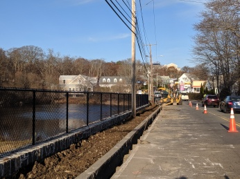 Gloucester DPW project later phase at Days Pond included a finsihed sidewalk_20191126_Gloucester Ma ©c ryan (2)