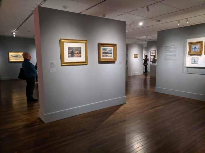 installation view_HOMER AT THE BEACH_Cape Ann Museum Gloucester Mass. special exhibition_2019_© c ryan