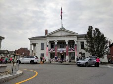Legion preparing for wreath laying Armistice day_Post 3_Veterans Day 11 Nov 2019 Gloucester MA_©c ryan (3)