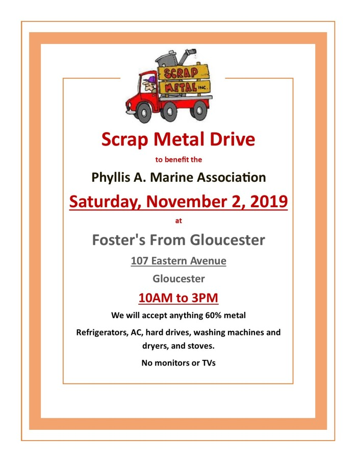 scrap steel drive 2019