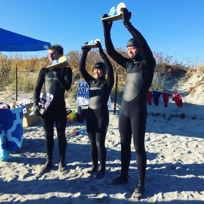 winners November 2019 UMASS surf club hosts surf competition at Good Harbor Beach Gloucester MA
