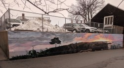 artist JOSH FALK _street art mural 2019_ with support from Awesome Rockport_ outside Rockport Public Library_ Rockport Mass._20191209_photograph ©c ryan (1)