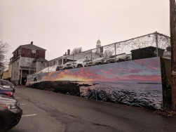 artist JOSH FALK _street art mural 2019_ with support from Awesome Rockport_ outside Rockport Public Library_ Rockport Mass._20191209_photograph ©c ryan (2)
