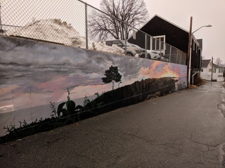 artist JOSH FALK _street art mural 2019_ with support from Awesome Rockport_ outside Rockport Public Library_ Rockport Mass._20191209_photograph ©c ryan (3)