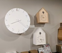bespoke modern cuckoo clocks from Japan-goodlinens studio and homegoods Main Street Gloucester MA_December 2019 photograph© c ryan (2)