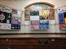 Cape Ann contributions to the Aids Quilt Names Project_public art on temporary display at City Hall Gloucester MA Nov December 2019_Gloucester Health Project (2)