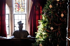 Hammond Castle Christmas Gloucester Massachusetts copyright Kim Smith - 22