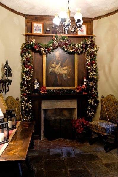 Hammond Castle Christmas Gloucester Massachusetts copyright Kim Smith - 29