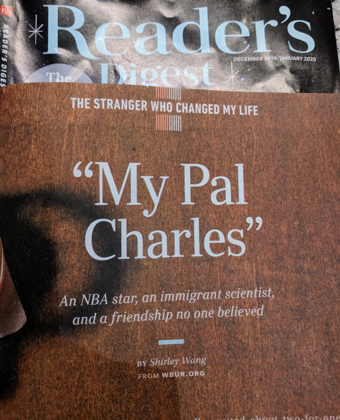 My Pal Charles story by Shirley Wang WBUR.org reprinted Reader's Digest Dec 2019.jpg