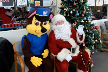 Santa Breakfast Rose Baker Senior Center copyright Kim Smith - 22