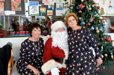 Santa Breakfast Rose Baker Senior Center copyright Kim Smith - 23
