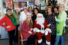 Santa Breakfast Rose Baker Senior Center copyright Kim Smith - 25