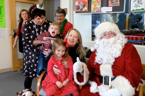Santa Breakfast Rose Baker Senior Center copyright Kim Smith - 26