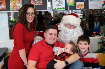 Santa Breakfast Rose Baker Senior Center copyright Kim Smith - 29