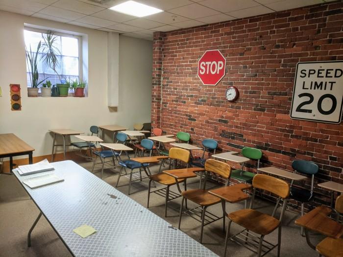 Scatterday's Driving School_85 Eastern Avenue office building_in the former Eastern Avenue neighborhood School_Gloucester Mass December 2019 © c ryan (5).jpg
