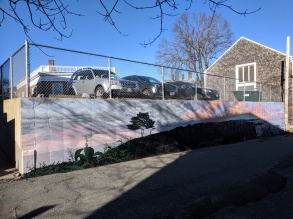 sun and shadows winter morning_artist JOSH FALK _street art mural 2019_ with support from Awesome Rockport_ outside Rockport Public Library_ Rockport Mass._20191209_photograph ©c ryan (2)