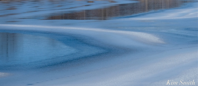 Ice Swirls Niles Pond copyright Kim Smith - 5