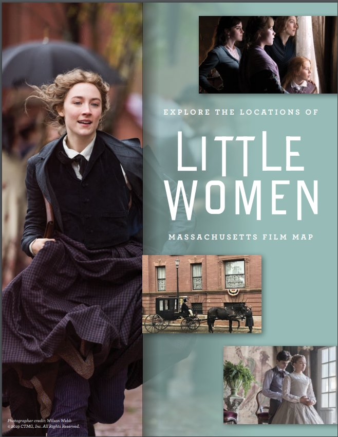 Massachusetts Mass Film Map Little Women