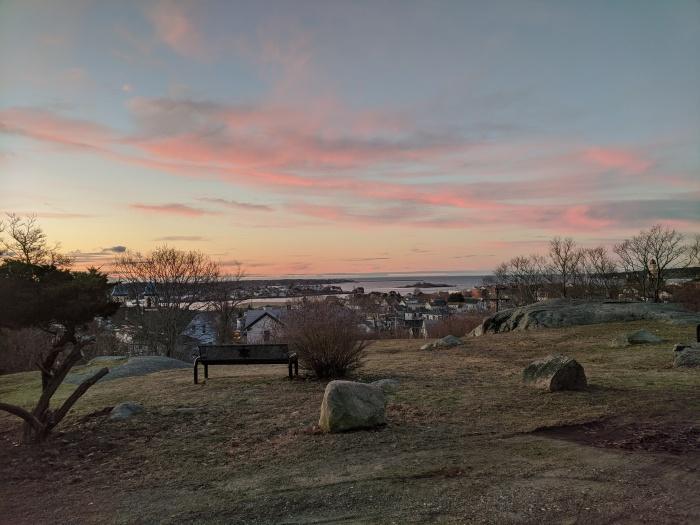 overlook Gloucester Harbor_gentle sunrise January 1 2020 ©c ryan (1)